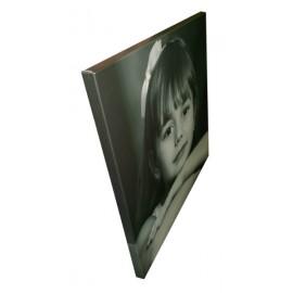 Печать фото на холсте и натяжка на подрамник